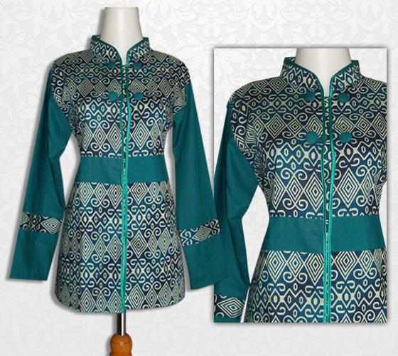 Batik Baju Kerja Wanita: Model Baju Batik Kantor Wanita
