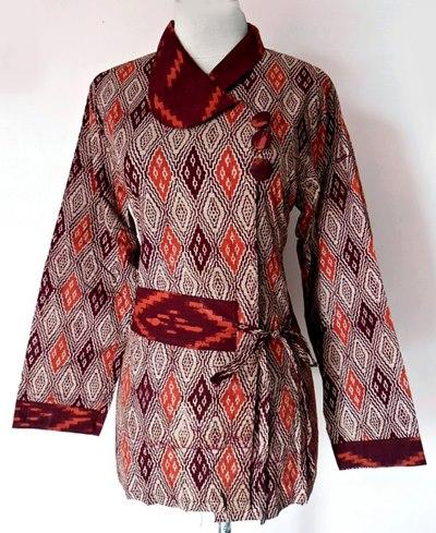 model baju batik kantor wanita ZoMMi