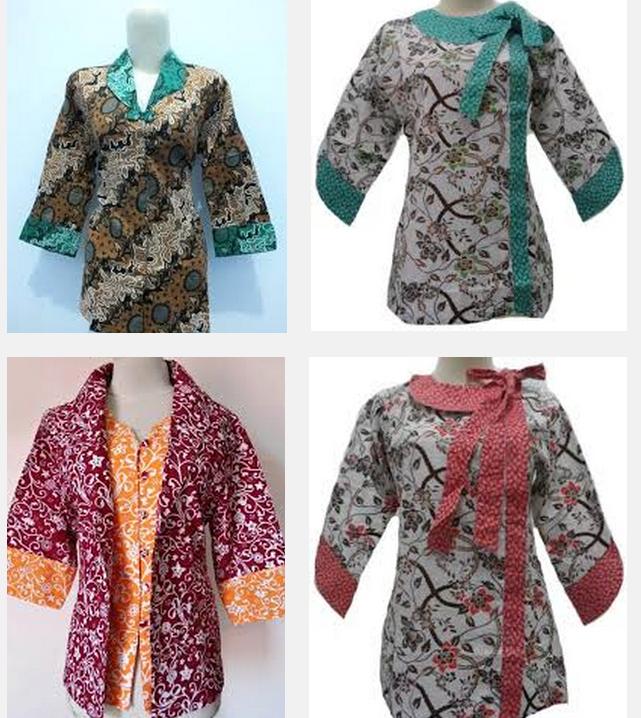 Model Baju Batik Kerja Untuk Tubuh Gemuk: Model Baju Batik Kantoran
